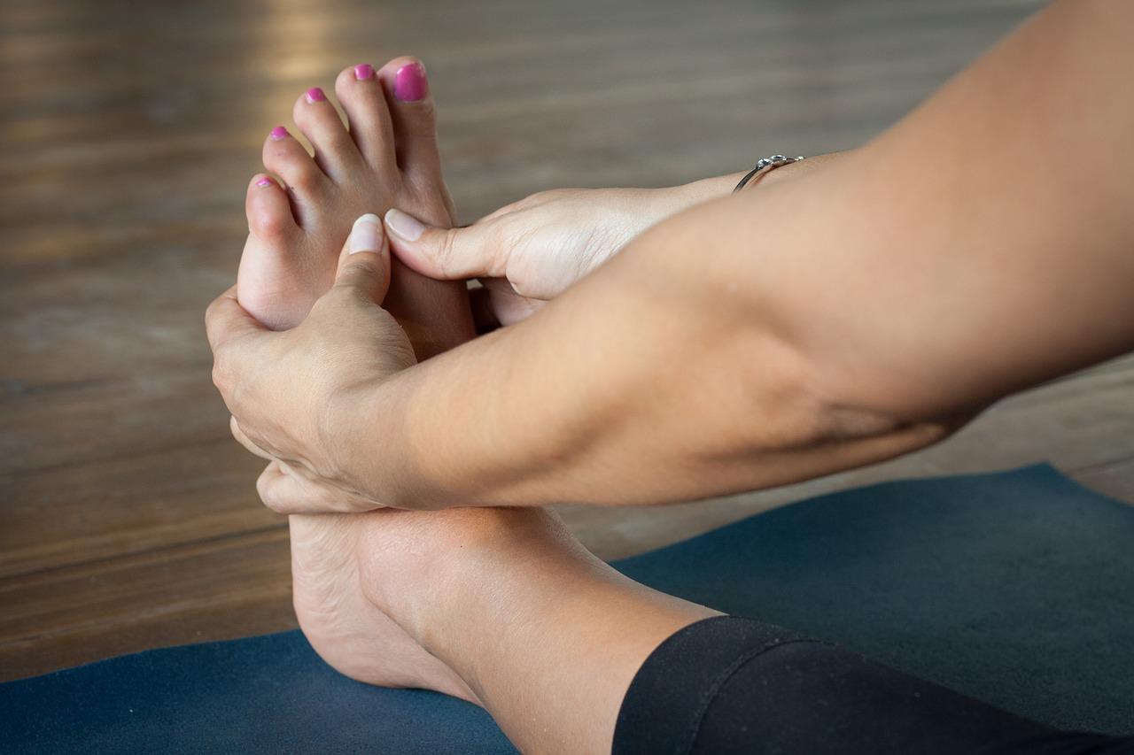 יבלות לחץ בכף הרגל